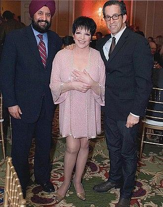AmfAR, The Foundation for AIDS Research - Liza Minnelli with Kenneth Cole at annual amfAR Gala in 2006
