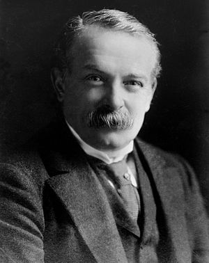 The Big Four (World War I) - David Lloyd George, former Prime Minister of the United Kingdom.