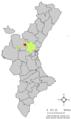 Localització de Casinos respecte del País Valencià.png