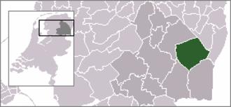 Klijndijk - Image: Locatie Borger Odoorn