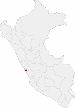 Location of the city of Lima in Peru.png