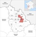 Locator map of Kanton Chauvigny 2019.png