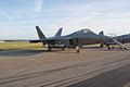 Lockheed-Martin F-22A-30-LM Raptor 05-099 RFront Dawn SNF 04April2014 (14583041741).jpg