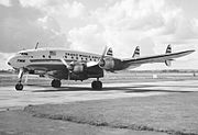 Lockheed L749A N6022C TWA Connie final