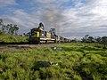 Locomotiva de comboio que entrava sentido Guaianã no pátio da Estação Ferroviária de Itu - Variante Boa Vista-Guaianã km 202 - panoramio.jpg