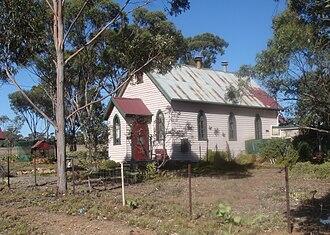 Logan, Victoria - Image: Logan church