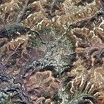Logancha impact crater, Krasnoyarsk Krai, Russia, Sentinel-2 satellite image, 2018-09-29.jpg