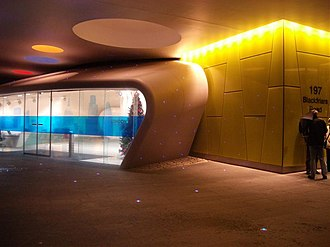 London Development Agency - LDA entrance in Palestra House, designed by Will Alsop and Buro Happold