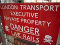 London Underground danger signs - Flickr - James E. Petts.jpg