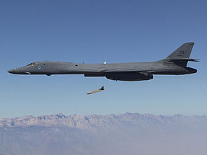 Long Range Anti-Ship Missile (LRASM) launches from an Air Force B-1B Lancer.jpg