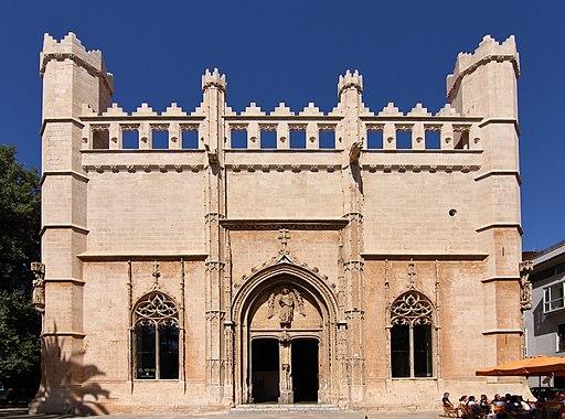 Lonja de Palma de Mallorca, fachada principal