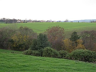 Finghall - Looking towards Finghall from the south-east