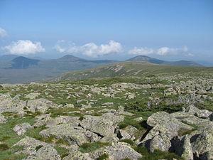 Hamlin Peak - Image: Looking northwest from Hamlin Peak