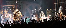 Lordi 2009. aastal. Vasakult paremale: Kita, Ox, Mr. Lordi, Awa, Amen