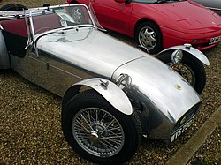 Lotus Seven Series 1, 1957 to 1960