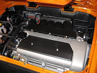 Toyota ZZ engine - Supercharged 2ZZ-GE installed in Lotus Elise SC
