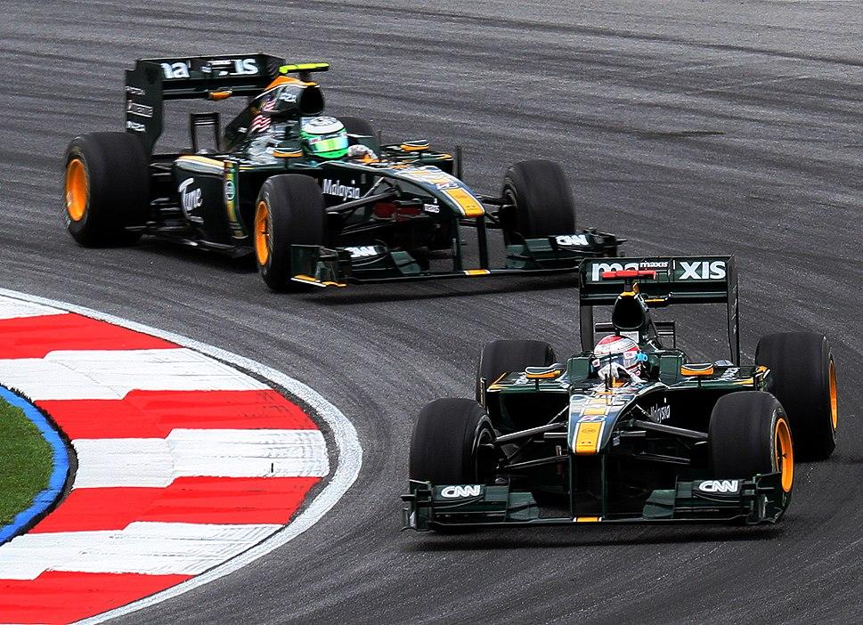 Lotus duo 2010 Malaysia Free Practice 3