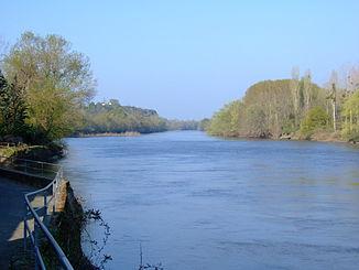 The river at Mûrs-Erigné
