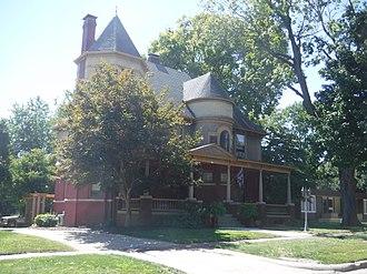 Pana, Illinois - Image: Louis Jehle House, Pana, Illinois