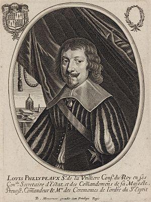 1598 in France - Louis Phélypeaux, seigneur de La Vrillière