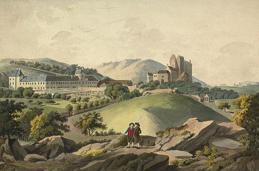 Lovro Janša - Trdnjava Liechenstein in novi grad