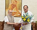 Lt. Governor of Delhi Anil Baijal with Vice President M. Venkaiah Naidu.jpg