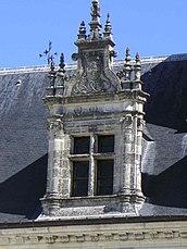 Tragaluz renacimiento castillo de Amboise