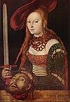 Lucas Cranach d.Ä. - Judith mit dem Haupt des Holofernes (Staatsgalerie Stuttgart).jpg