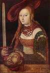 Lucas Cranach the Elder  - Judith with the head of Holofernes (Staatsgalerie Stuttgart) .jpg
