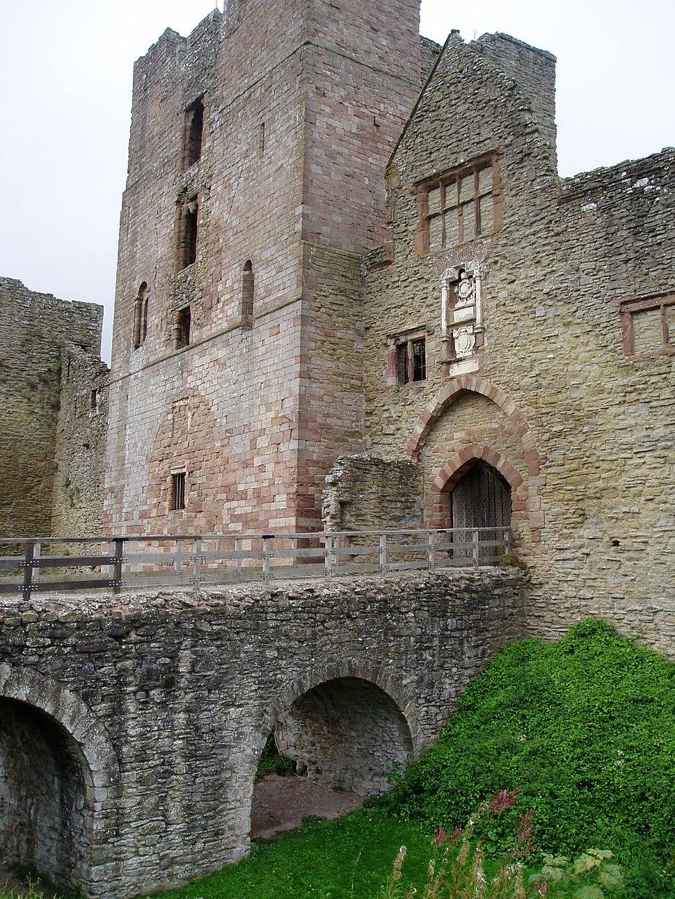 Ludlow Castle gatehouse