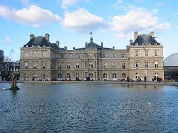 El Palacio de Luxemburgo