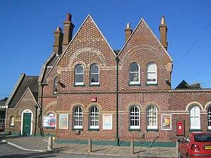 London and South Western Railway - Lymington Town railway station