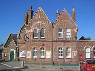 London and South Western Railway - Lymington Town railway station