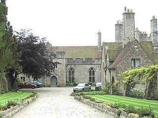 Lympne Human settlement in England