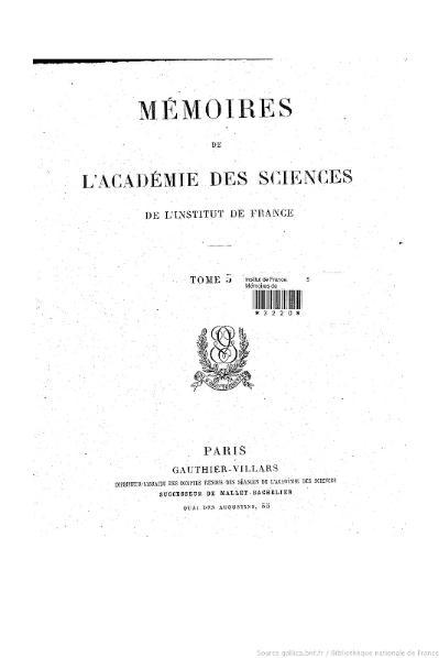 File:Mémoires de l'Académie des sciences, Tome 5.djvu
