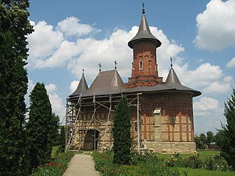 Botoșani - 15th century Saint Nicholas (Popăuți) church