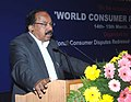 M. Veerappa Moily delivering the keynote address at the two day Conference of the Presidents, State Commissions and the Secretaries, Incharge.jpg