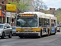 MBTA route 39 bus on Centre Street, April 2017.JPG