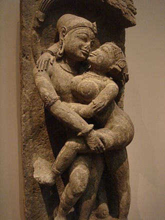 Maithuna - Loving Couple, Mithuna, Eastern Ganga dynasty, 13th century Orissa, India