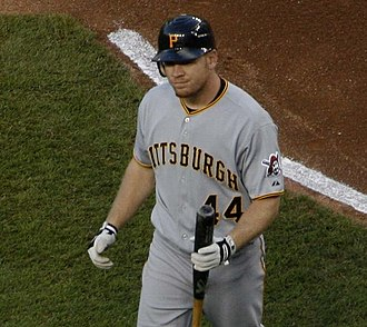 Brandon Moss - Moss with the Pittsburgh Pirates in 2009