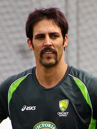 Mitchell Johnson (cricketer) - Johnson in January 2014