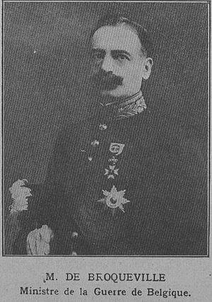 Charles de Broqueville - Image: M 37 4 Charles de Brocqueville
