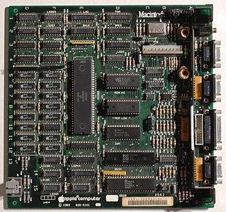 Macintosh 128K - Macintosh motherboard