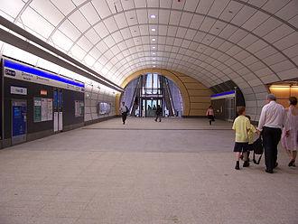 Macquarie University railway station - Concourse
