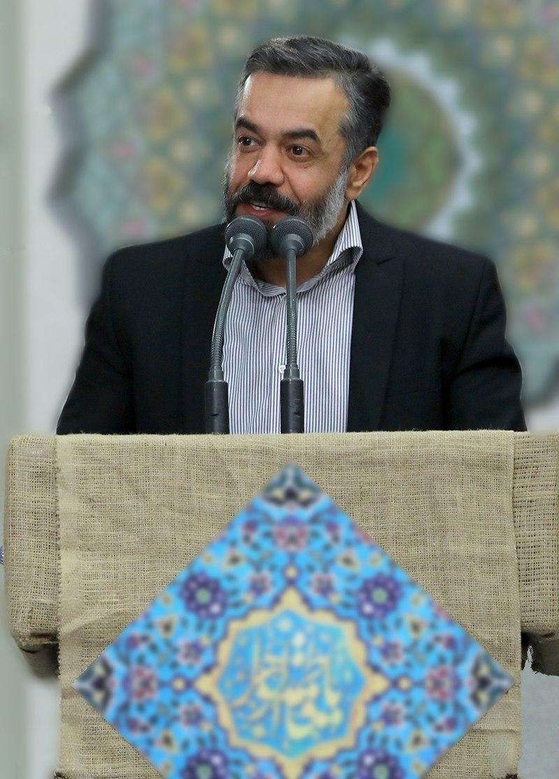 Maddahs meeting Ali Khamenei Mahmoud Karimi (01).jpg