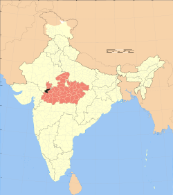 Madhya Pradesh district location map Ratlam.svg