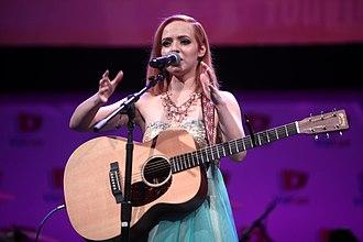 Madilyn Bailey - Performing in 2015.