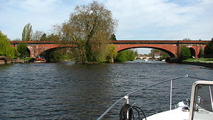 Isambard Kingdom Brunel - The Maidenhead Railway Bridge, at the time the largest span for a brick arch bridge.