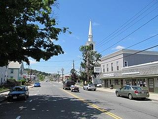 Monson Center, Massachusetts Census-designated place in Massachusetts, United States