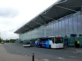 Bristol Airport - Terminal at Bristol Airport